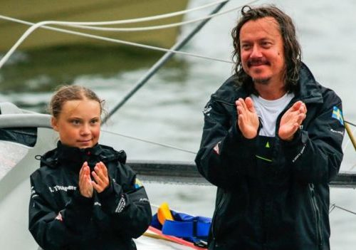 Greta Thunberg's Dad: she's Joyful, but I Fear